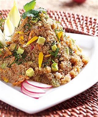 Como Cocinar Amaranto En Grano | Ensalada De Amaranto De Buena Mesa