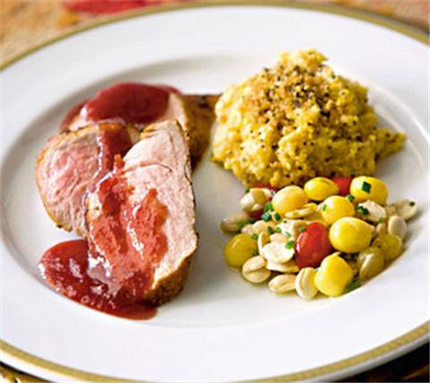 Receta solomillo de cerdo con salsa de capul de buena mesa - Solomillo de ternera al horno facil ...