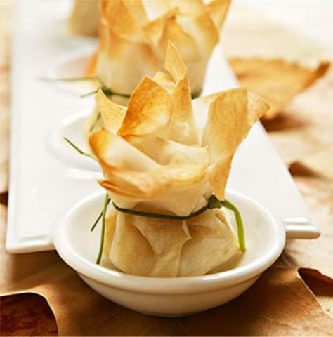 Saquitos de masa philo de buena mesa - Que hacer con la pasta filo ...