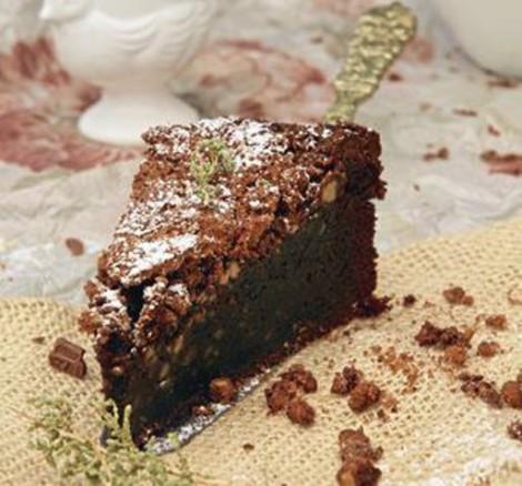 Brownie de Chocolate con RIca Rica De Buena Mesa